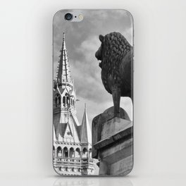 The Brunswick Lion and Town Hall iPhone Skin