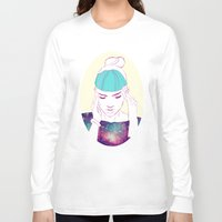 grimes Long Sleeve T-shirts featuring GRIMES by Nuk_