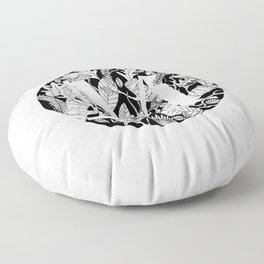 Woodsy M Floor Pillow