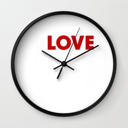 Old West Gifts Wild West Collection Love Cowboys Wall Clock