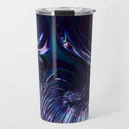 Black Iris Travel Mug