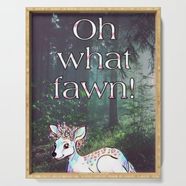 Oh what fawn! Serving Tray