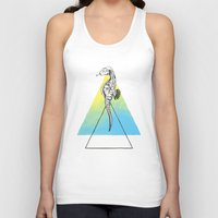 sea horse Tank Tops featuring Sea horse by Carol Gomes