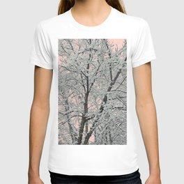 Big Tree In Snow T-shirt