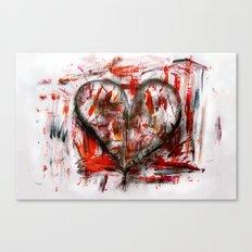 Herzlichkeit Canvas Print