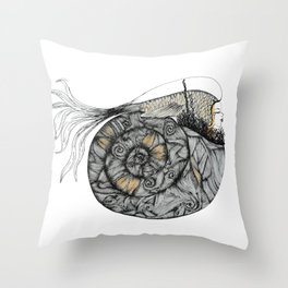 Mujer del Mar . Sea Woman. #1 Throw Pillow