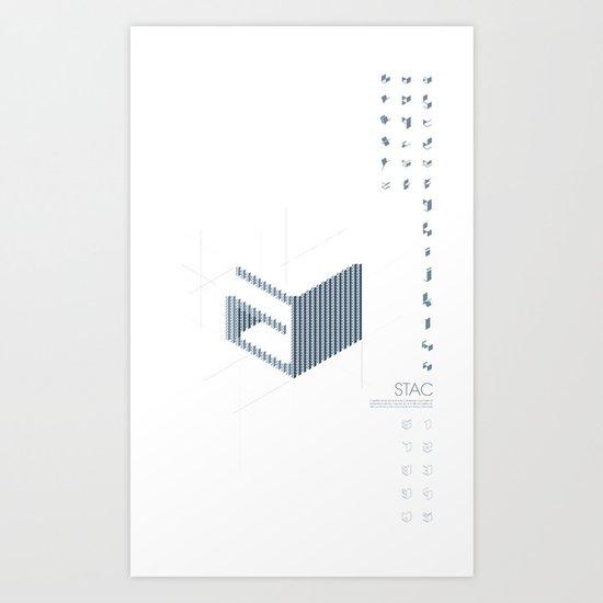 STAC Art Print