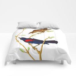 Prairie Starling Bird Comforters