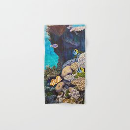 The Gathering - Coral Reef Hand & Bath Towel