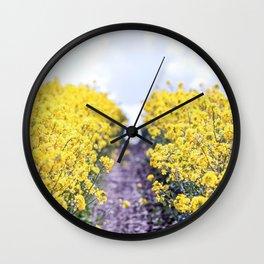 Walk Through the Yellow Wall Clock