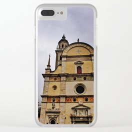 Dramatic Setting Clear iPhone Case