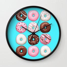 Donuts Party Wall Clock