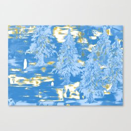 Winter Design ZZ Canvas Print