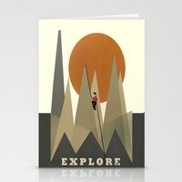 explore Stationery Cards featuring Explore by bri.buckley