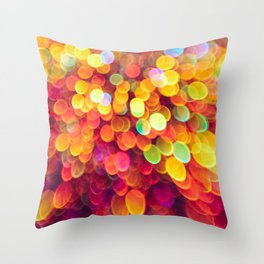 Light and Shimmer Throw Pillow