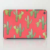 cacti iPad Cases featuring Cacti by Megan Dignan