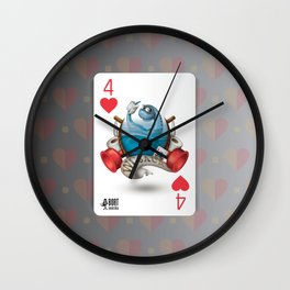 Cards for my arts / WCsaur Wall Clock