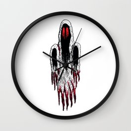 Demi-Lich Ghost Spectre Sprite Illustration Drawing Vector Wall Clock