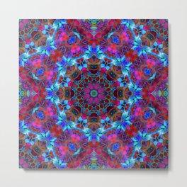 Fractal Floral Abstract G86 Metal Print