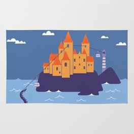 dream castle Rug