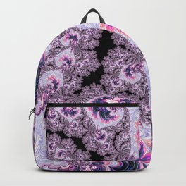 Pink and Purple Fractal Backpack