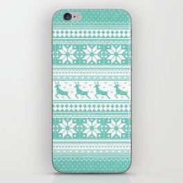 Reindeer Sweater iPhone Skin