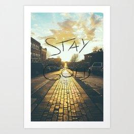 Stay Gold Ponyboy Art Print