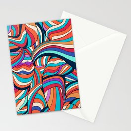 African Style No24, Sahara echoes Stationery Cards