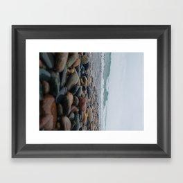 Shore and Sea Framed Art Print