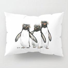 Macaroni Penguin Gang Pillow Sham