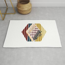 Chess Board Rug
