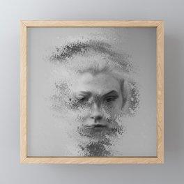 The Unknown selfie Framed Mini Art Print