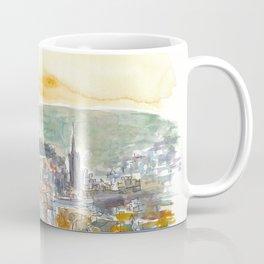 Edinburgh Scotland Cityiew At Dusk Coffee Mug