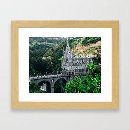 Lajas Sanctuary (Colombia) Framed Art Print