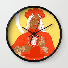 patron saint Wall Clock