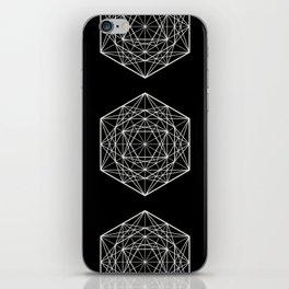 Geometric Mandala (White) iPhone Skin