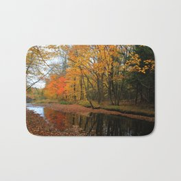 Autumn Scene - Photography Bath Mat