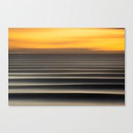 East Coast Lines Canvas Print