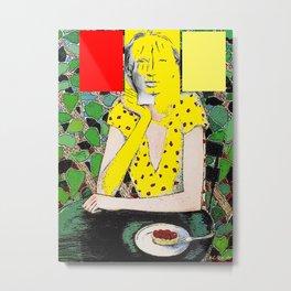 Woman 107 Metal Print