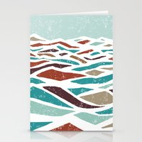 minimalist Stationery Cards featuring Sea Recollection by Efi Tolia