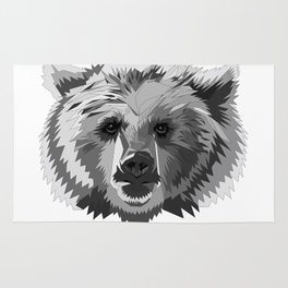 BEAR CUBISM Rug