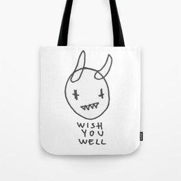 WISHYOUWELL Tote Bag
