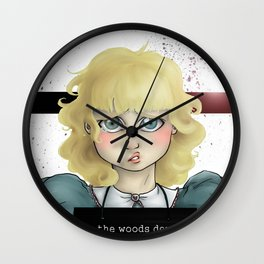 Breaking and Entering Wall Clock