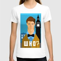 the who T-shirts featuring Who? by Mountain Top Designs