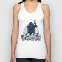 minions Tank Tops featuring Stormtrooper Minions by Hugo Martin