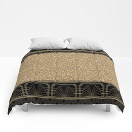 Flapper glamour Comforters