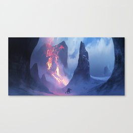 Winterflame Canvas Print