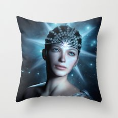 Starlight Beauty Throw Pillow