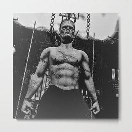 It's Alive Frankenstein Metal Print