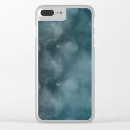 Technological Current Clear iPhone Case
